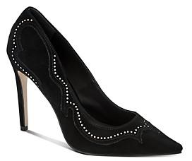 AllSaints Women's Zehra Pointed-Toe High-Heel Pumps