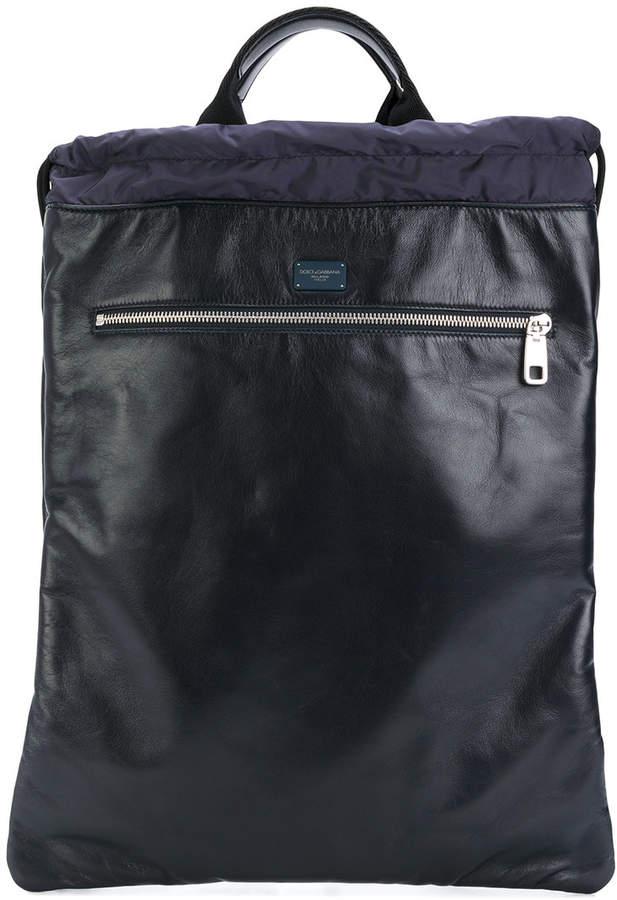 Dolce & Gabbana drawstring backpack