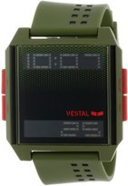 Vestal Men's DIG014 Digichord Army Ultra Thin Digital Watch