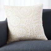 Crate & Barrel Frost Pillow