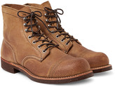 Red Wing Shoes - Iron Ranger Distressed Suede Boots