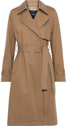 Theory Oaklane Cotton-blend Gabardine Trench Coat