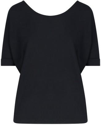 Zanone Rear V-neck T-shirt