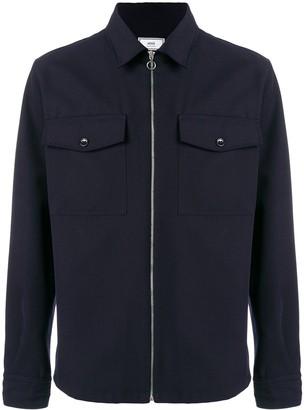Ami Zipped Over-Shirt