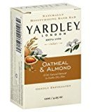 Yardley London Oatmeal and Almond Bar Soap, 4.25 Oz. 20 Bars