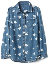 Gap 1969 Starry Denim Shirt