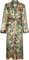 Etro Silk Jacquard Duster Coat