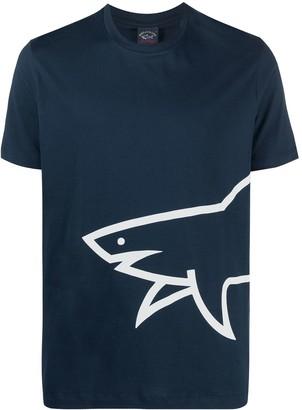 Paul & Shark Logo-Print Short-Sleeved T-Shirt