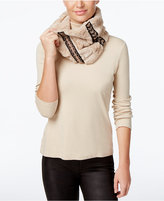 INC International Concepts Embellished Faux Fur Cowl Loop, Only at Macy's