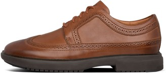 FitFlop Odyn Mens Leather Brogues