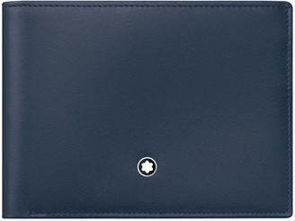 Montblanc Meisterstuck Leather Bifold Wallet, Navy