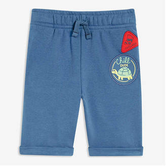 Joe Fresh Toddler Boys' Roll Cuff Shorts, Blue (Size 5)