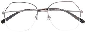Stella McCartney Half Frame Eyeglasses