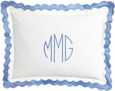 Matouk King Paloma Pique Sham with Monogram