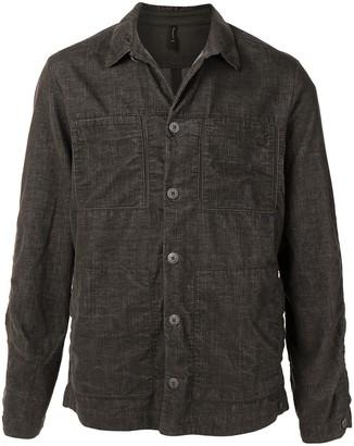 Transit Patch-Pocket Chambray Shirt Jacket