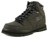 DC Peary Spt Men Round Toe Leather Black Snow Boot.