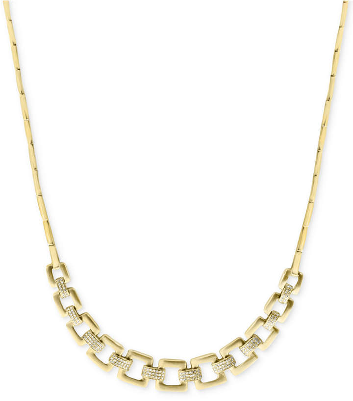 Effy D'oro by Diamond Chain Collar Necklace (3/4 ct. t.w.) in 14k Gold
