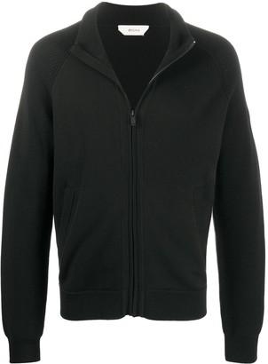 Ermenegildo Zegna Zip-Up Wool Cardigan
