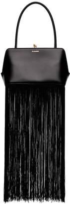Jil Sander Goji Frame fringed shoulder bag