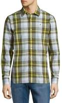 Victorinox Plaid Cotton-Blend Shirt