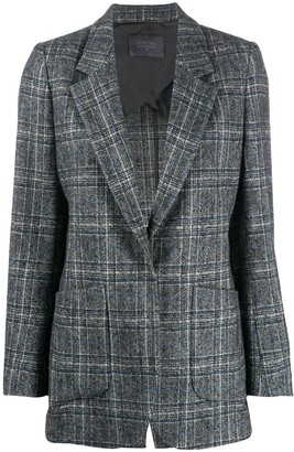 Lorena Antoniazzi Checked Single-Breasted Blazer