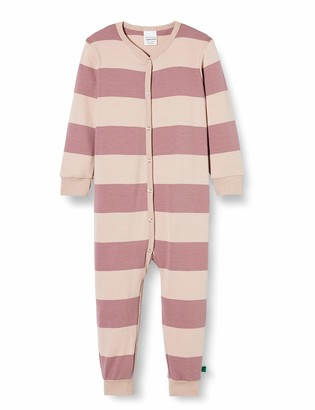 Fred's World by Green Cotton Baby Girls' Stripe Bodysuit Toddler Sleepers
