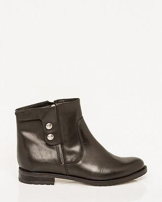 Le Château Italian-Made Leather Ankle Boot