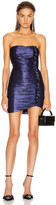 retrofete Adrienne Dress in Midnight Purple   FWRD