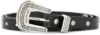Alanui Western Style Buckle Belt