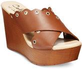 Callisto Darcii Platform Wedge Sandals