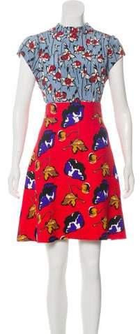 203a5f1300e41 Miu Miu Red Dresses - ShopStyle Australia