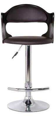 Ebern Designs Bobbie Adjustable Height Swivel Bar Stool
