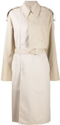 Bottega Veneta Double Layer Trench Coat