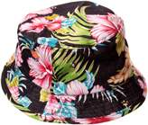 City Hunter Hibiscus Floral Bucket Hat