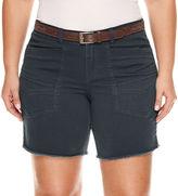 UNIONBAY Union Bay Midi Shorts-Juniors Plus