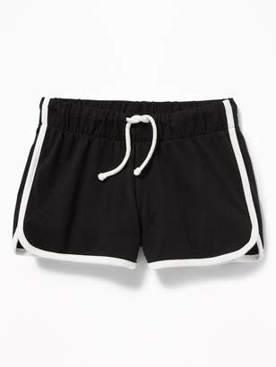 Old Navy Jersey Dolphin-Hem Cheer Shorts for Girls