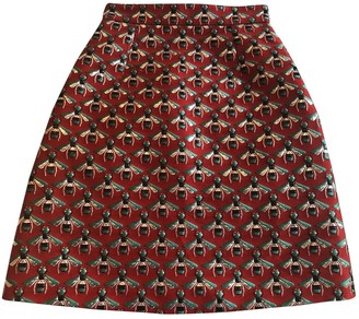 Gucci Red Skirt for Women
