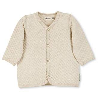 Sterntaler Unisex Baby Jacket with Star Motif, Size: 0-3m, Colour: Ecru, 5621900