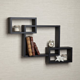Brayden Studio 3 Intersecting Wall Shelf