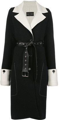 Proenza Schouler Doubleface single-breasted coat