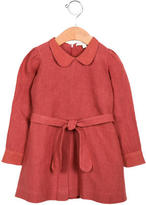 Caramel Baby & Child Girls' Linen Belted Dress