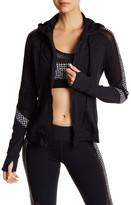 Trina Turk Mesh Inset Jacket