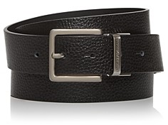 Giorgio Armani Men's Multi-Buckle Reversible Leather Belt Set