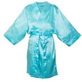 Cathy's Concepts Women's Monogram Satin Robe