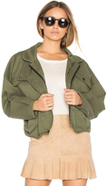 Marissa Webb Piper Jacket in Army. - size L (also in M)