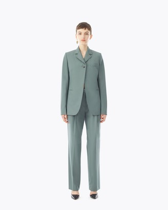 3.1 Phillip Lim Merino Wool Poplin Blazer