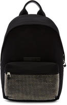 McQ Black Studded Classic Backpack