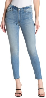 Black Orchid Carmen High Rise Ankle Frayed Jeans