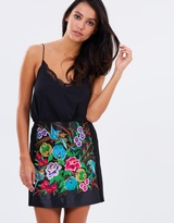 Lipsy Embroidered Multi Mini Skirt