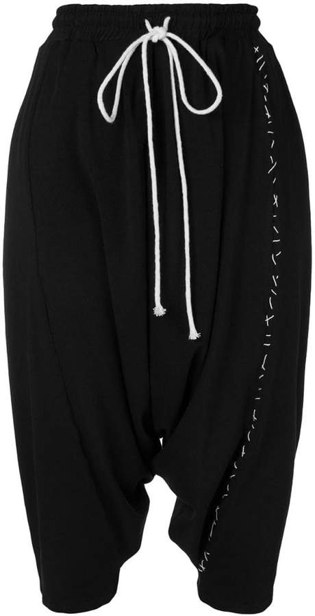 Alchemy cropped track trousers